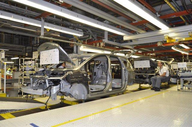 Fábrica de PSA en Figueruelas (Zaragoza)