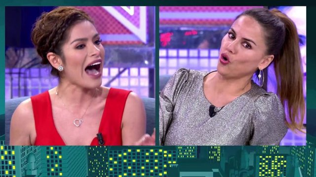 Miriam Saavedra y Mónica Hoyos