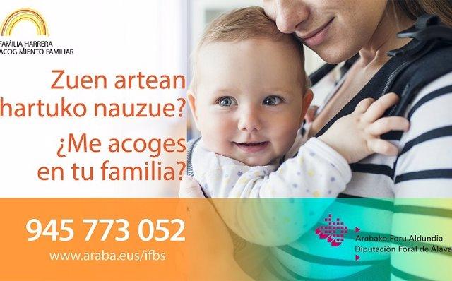 Programa de acogimiento familiar en Álava