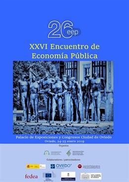 Cartel del XXVI Encuentro de Economía Pública