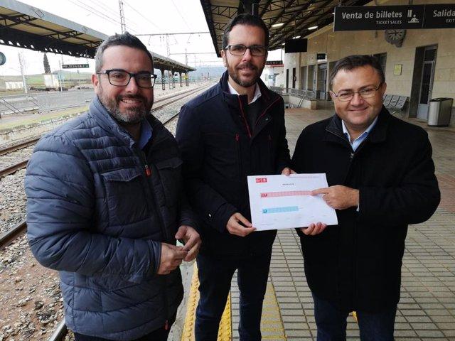 Miguel Angel Heredia en Antequera PGE bobadilla presupuestos PGE PSOE