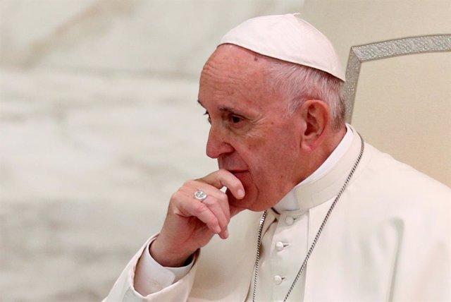 El Papa Francisco en una audiencia en el Vaticano