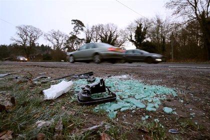 La Policía advierte a Felipe de Inglaterra por no llevar cinturón de seguridad después de su accidente