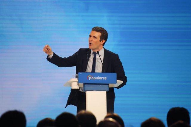 Tercera jornada de la Convenció Nacional del PP 'Espanya en llibertat'