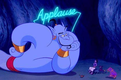 Aladdin: Filtrada la primera imagen del Genio de Will Smith azul