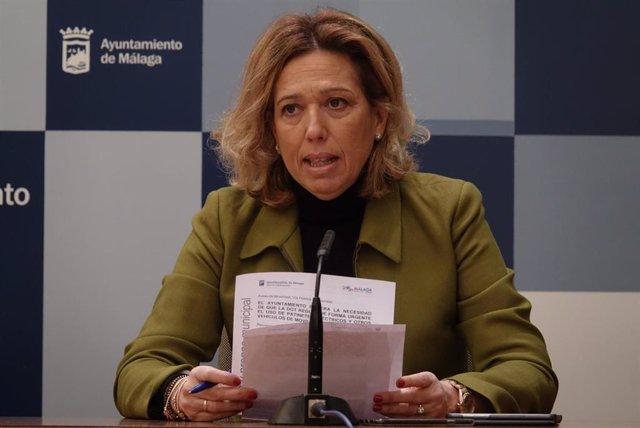 La concejala de Movilidad, Elvira Maeso