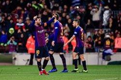 Messi dinamita el Leganés (Xavier Bonilla / AFP7)
