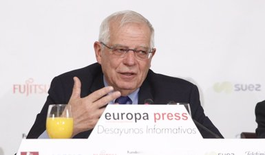 """Borrell diu que el Brexit no pot ser com la DUI a Catalunya que """"es proclama i després se'n suspenen els efectes (Eduardo Parra - Europa Press)"""