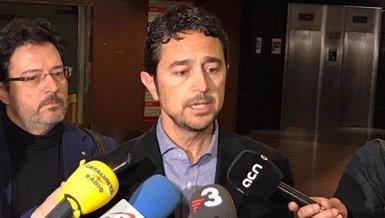 Calvet es reuneix amb l'ATM i agents socioeconòmics per les protestes dels taxis i dels VTC (GENERALITAT )