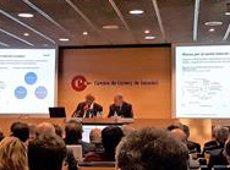 """Oliu: """"El dinamisme de l'activitat econòmica catalana és inferior del que li correspondria"""" (@SABADELLPREMSA)"""