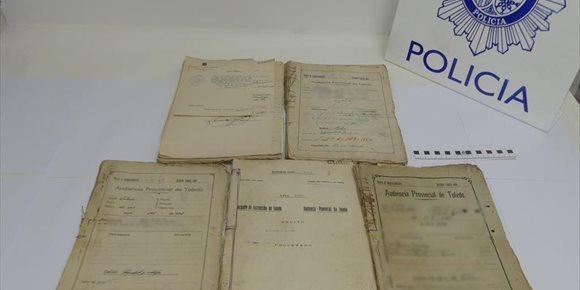 9. Recuperados documentos sobre procesos criminales enjuiciados entre 1930 y 1947 en Toledo