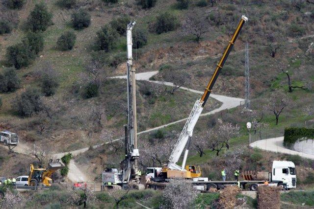 Tuneladora que se empleará en el rescate de Julen
