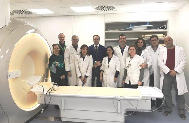 El Hospital Macarena pone en marcha un nuevo equipo de resonancia magnética