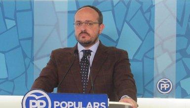 Alejandro Fernández (PP) demana al sobiranisme que reemplaci Torra per evitar un 155 (EUROPA PRESS)