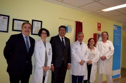 Madrid.- El Hospital Príncipe de Asturias descubre la placa de acreditación QH concedida por IDIS