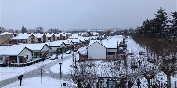 2. Avisos por nevadas este martes en todas las provincias de CyL salvo Valladolid