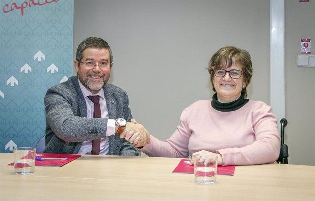 Firma del convenio entre la Fundación DFA y ANEA