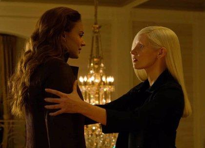 X-Men Fénix Oscura: Jessica Chastain controla a Sophie Turner en la nueva imagen de Dark Phoenix