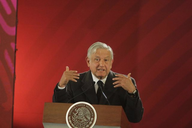 Mexican President Lopez Obrador press conference