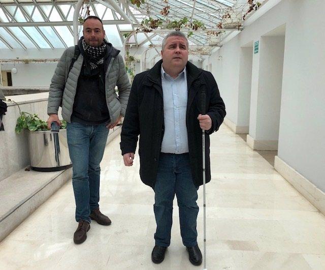 José Ramón Blanco y Alberto Bolado