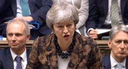 May eximeix del pagament de 73 euros els europeus amb més de cinc anys al Regne Unit que vulguin quedar-s'hi (-/House Of Commons via PA Wire/d / DPA)