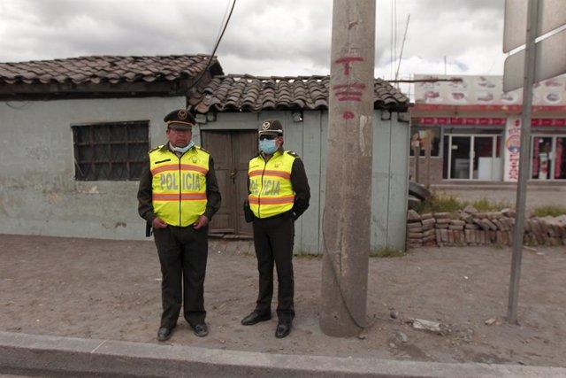 Policía en Ecuador