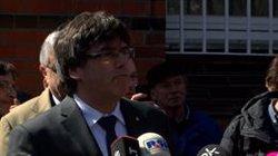 AMP.- Puigdemont recorre al TC que la Mesa del Parlament li retirés la seva possibilitat de delegar el vot (Europa Press - Archivo)