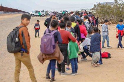 AMP.-Centroamérica.-Honduras y México trabajan para atender a los migrantes centroamericanos que tratan de llegar a EEUU