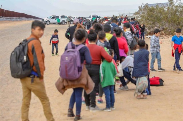 Caravana inmigrantes México