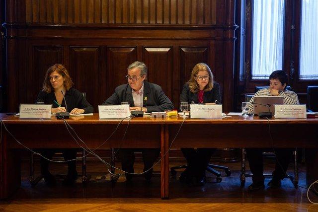 Comisión de investigación sobre el artículo 155 en el Parlament de Catalunya