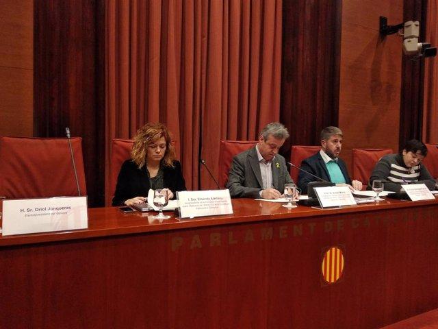 Comissió d'investigació del Parlament sobre el 155.