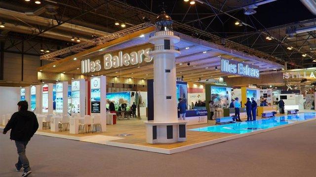 El 'stand' de Baleares en una edición pasada de Fitur