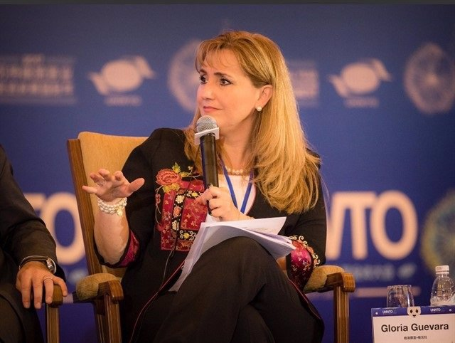 Gloria Guevara, presidenta del Consell Mundial de Viatges i Turisme (WTTC)