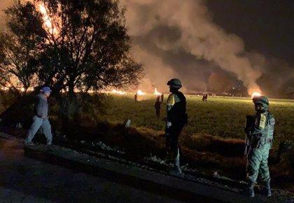 La CNDH denuncia la actuación del Ejército mexicano en la explosión de un ducto en Tlahuelipan que ha dejado 91 muertos
