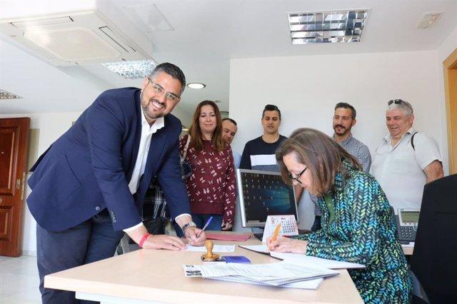 José Gonzalez, candidato a la alcaldía de Mijas por el PSOE
