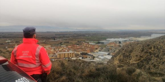 8. Protección Civil levanta la alerta a las localidades navarras por la nube tóxica proveniente de La Rioja