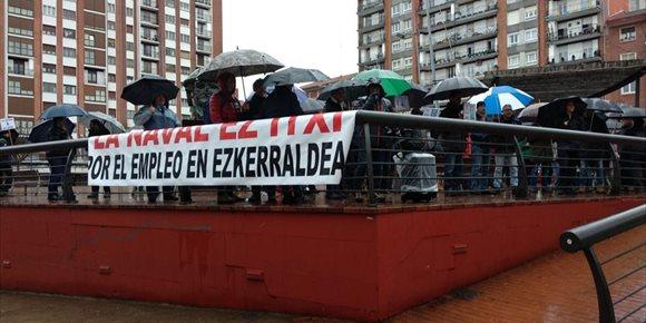 10. Trabajadores de La Naval piden la implicación de los cuatro alcaldes de Margen Izquierda en contra del ERE de extinción
