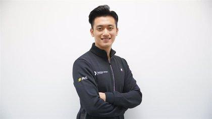 El chino Guanyu Zhou, nuevo piloto de desarrollo de la escudería Renault
