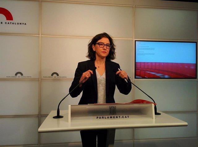 La portavoz de PSC-Units, Eva Granados