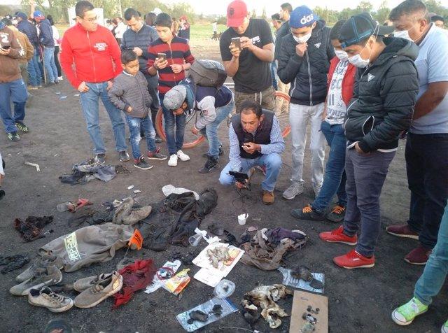 Testimonios de familiares de la explosión de Tlahuelilpan