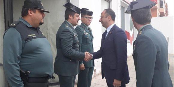 5. Gómez de Celis inaugura el nuevo cuartel de la Guardia Civil de Vícar, que ha duplicado su capacidad