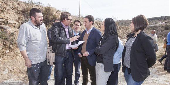 4. Diputación de Almería iniciará en febrero las obras de mejora en el Camino de los Chopos, que une Laroya y Tahal