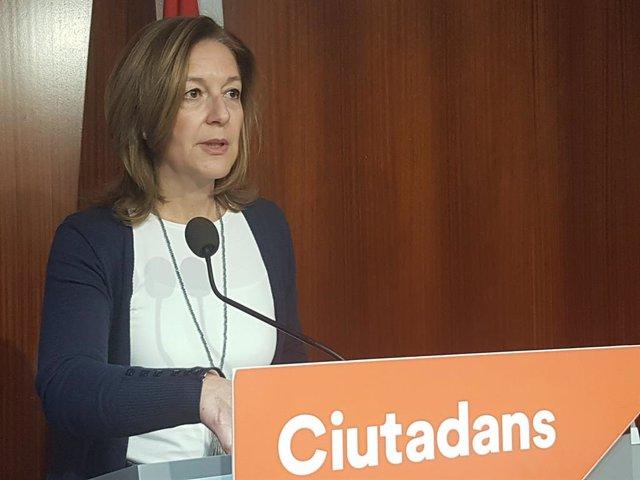 La líder de Cs a l'Ajuntament de Barcelona, Carina Mejías