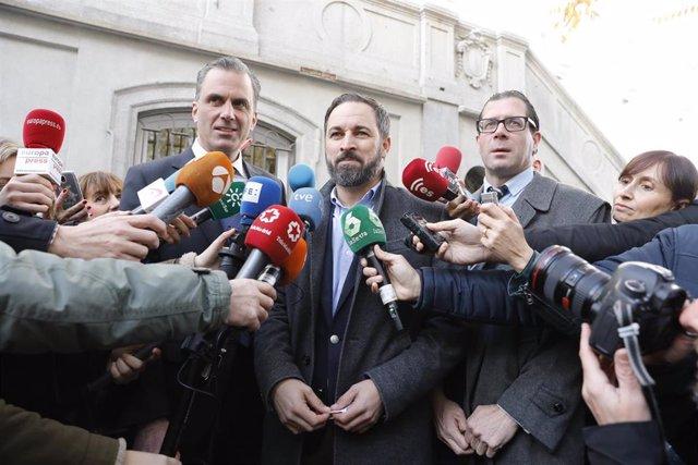 VOX presenta una querella contra el presidente catalán, Quim Torra