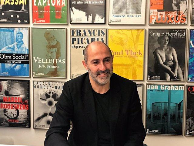 Carkes Guerra, director de la Fundació Antoni Tpies
