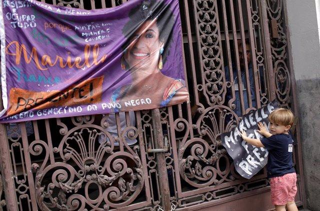 Homenaje a la concejal Marielle Franco