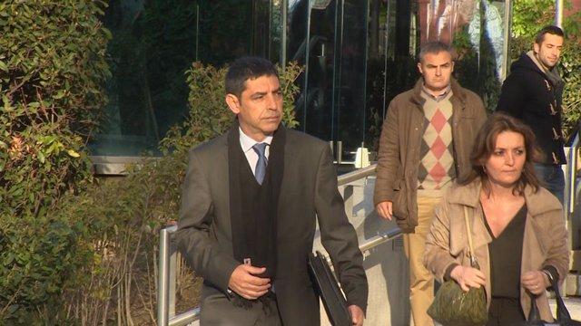 Trapero acudeix a l'Audincia Nacional