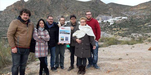 1. Adelante Andalucía se muestra en contra del proyecto del tendido eléctrico de Huebro en Níjar