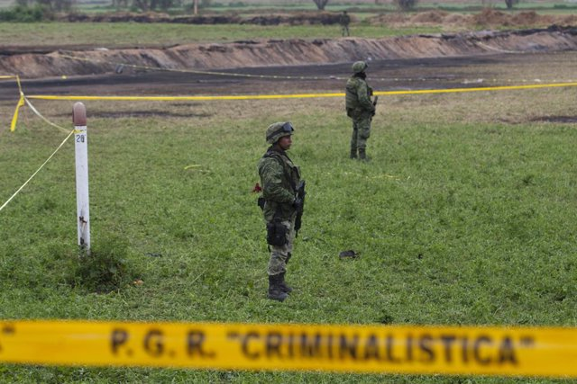 Explosión en un oleoducto del estado mexicano de Hidalgo