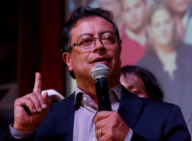 El excandidato colombiano Gustavo Petro